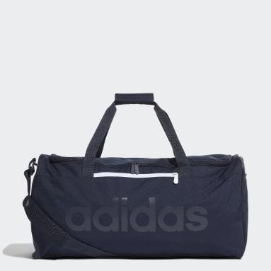 Sportswear Blue Linear Core Duffel Bag Medium