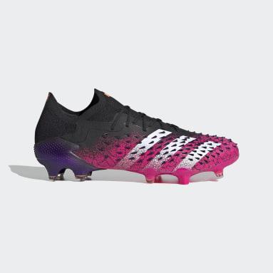 Football Black Predator Freak.1 Firm Ground Boots