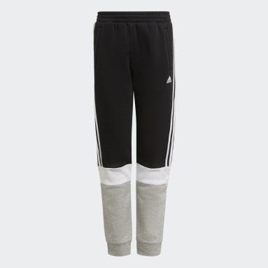 Jongens Sportswear Zwart adidas Essentials Colorblock Broek