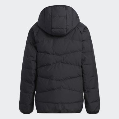 Kids Gym & Training Black Frosty Winter Jacket