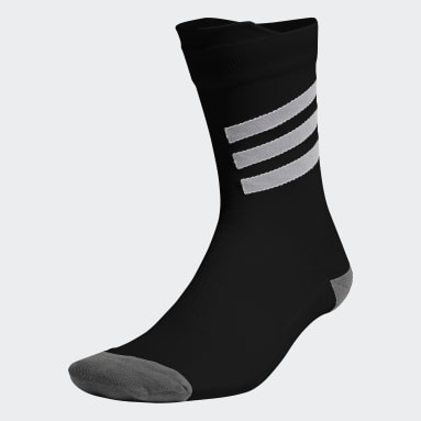 ผู้หญิง เทรนนิง สีดำ ถุงเท้าความยาวครึ่งแข้งทรงประสิทธิภาพและเบาพิเศษ AEROREADY