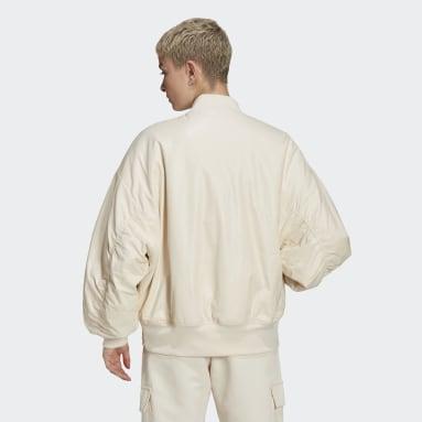 Kvinder Originals Hvid Bomber jakke