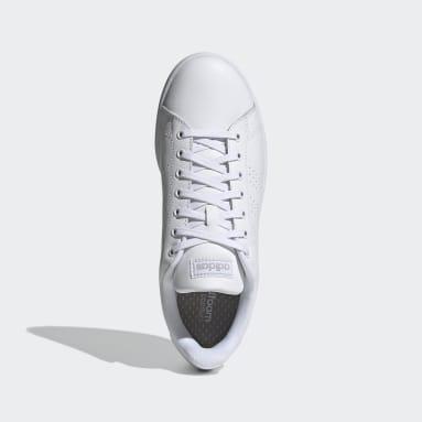 Men Tennis White Advantage Shoes