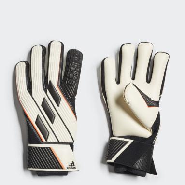 Football White Tiro Pro Goalkeeper Gloves