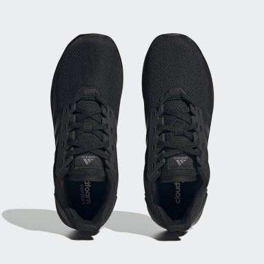 Men Running Black Duramo 9 Shoes