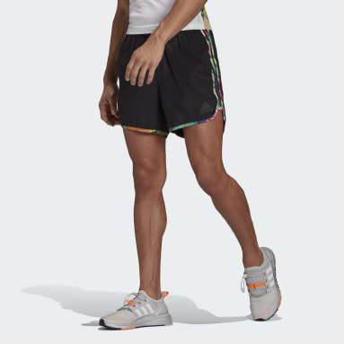 Shorts M20 Floral Negro Hombre Running