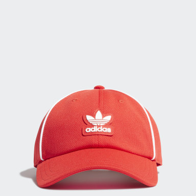 Originals Red Adicolor Collegiate Baseball Cap