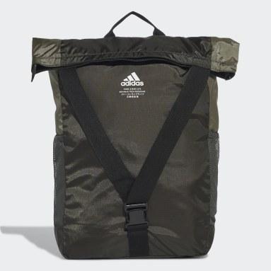 Fitness Og Træning Grøn Classic Flap Top Shopper rygsæk