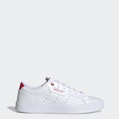 Tênis adidas Sleek Branco Mulher Originals