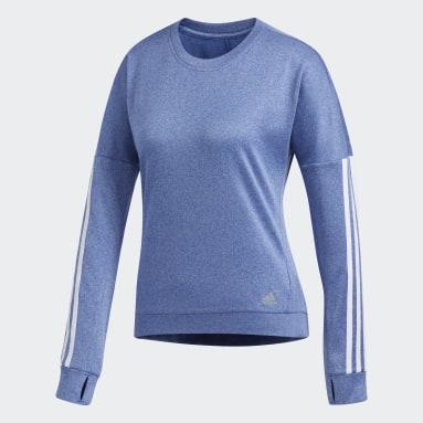 Camiseta manga larga Response Azul Mujer Hockey Hierba