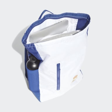 Football White Real Madrid Backpack