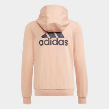 Girls Lifestyle Pink adidas Essentials Track Jacket