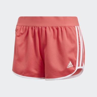 ผู้หญิง Sportswear สีชมพู กางเกงขาสั้น ID M10 Athletics