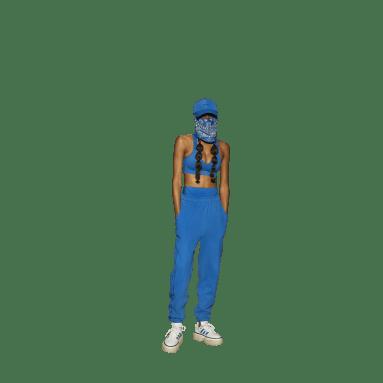Pants Felpa Francesa (Género Neutro) Azul Originals