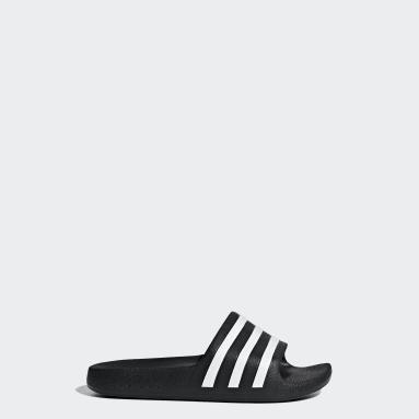 เด็ก Swim สีดำ รองเท้าแตะ Adilette Aqua