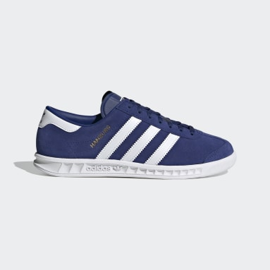 Youth 8-16 Years Originals Blue Hamburg Shoes