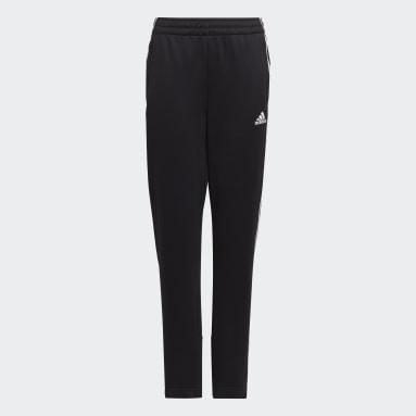 Pantalon AEROREADY Primegreen 3-Stripes Tapered Noir Garçons Fitness Et Training