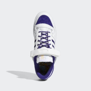 Chaussure Forum Low Donovan Mitchell blanc Originals