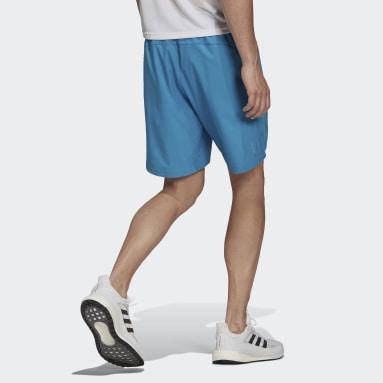 Men Running Turquoise Run It Shorts