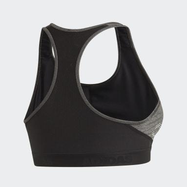 Brassière Don't Rest Alphaskin Badge of Sport Noir Femmes Yoga