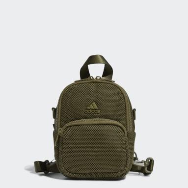 Women's Training Green Air-Mesh Mini Backpack