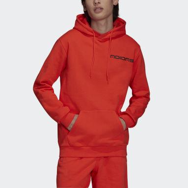 Sweat-shirt à capuche Graphics Symbol Rouge Hommes Originals