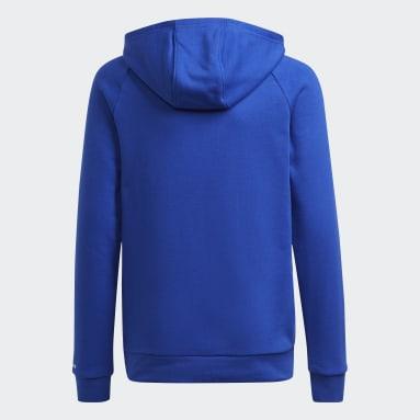 Børn Originals Blå Adicolor hættetrøje