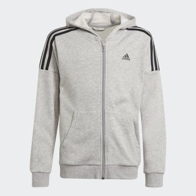 Boys Gym & Training Grey Track Suit