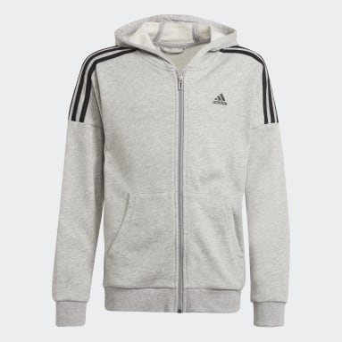Youth 8-16 Years Gym & Training Grey Tracksuit