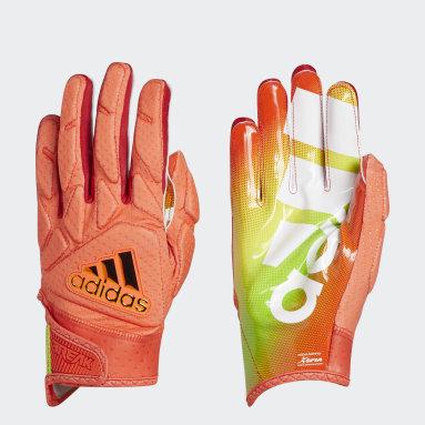 Football Red Freak 5.0 All-American Game Gloves