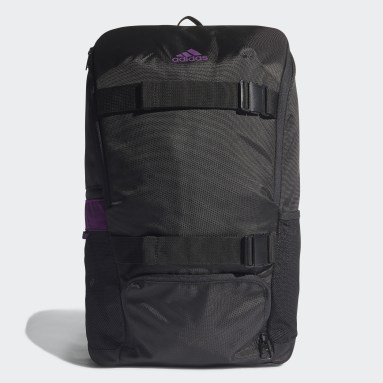 Football Black Manchester United ID Backpack