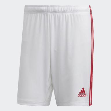 Men Football White Arsenal Home Shorts