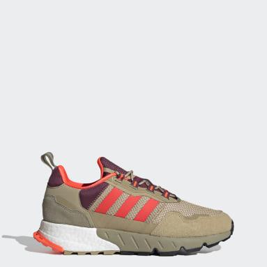 Men's Originals Beige ZX 1K Boost Shoes