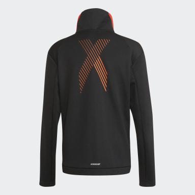 черный Олимпийка AEROREADY X Football-Inspired