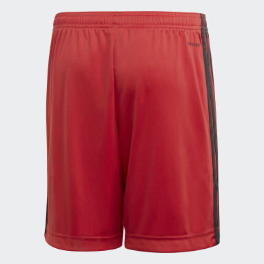 Pantalón corto portero primera equipación Alemania Rojo Niño Fútbol