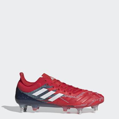 Rugby Rød Predator XP Soft Ground støvler