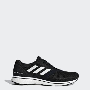 Women Running Black Adizero Adios 4 Shoes