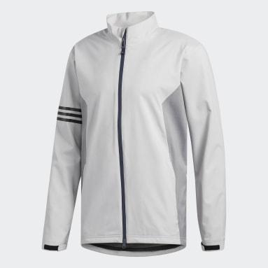 Men Golf Grey Climaproof Jacket