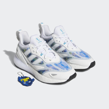 Youth Originals White Ninja Time In ZX 2K 2.0 Shoes