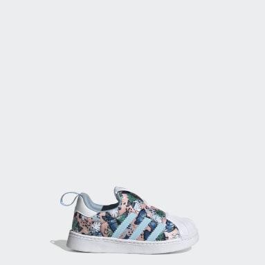 Kinderen Originals Roze Superstar 360 Schoenen
