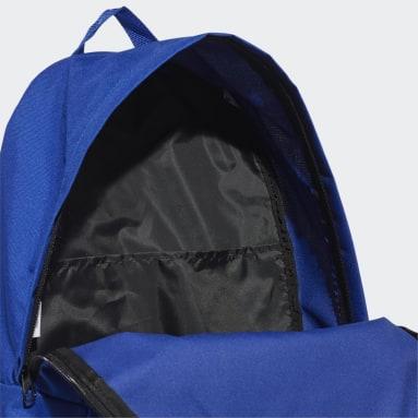 Training Blue Classic Big Logo Backpack