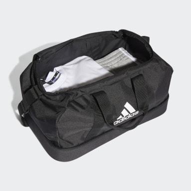 Fotbal černá Taška Tiro Primegreen Bottom Compartment Duffel Small