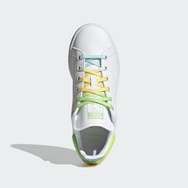 Kids Originals Grey Stan Smith Tinkerbell Shoes
