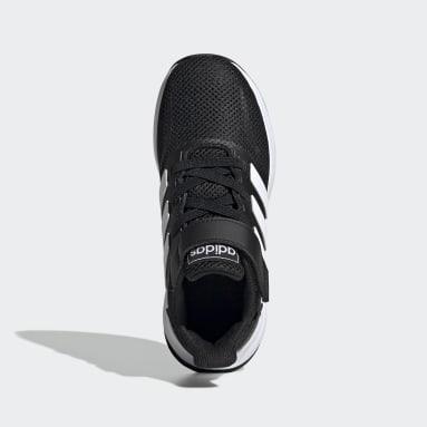 Kids 4-8 Years Running Black Run Falcon Shoes