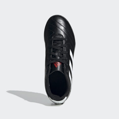 Calzado de Fútbol Goletto VII Pasto Sintético Negro Niño Fútbol