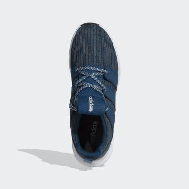 Men Running Blue Stride-Set Shoes