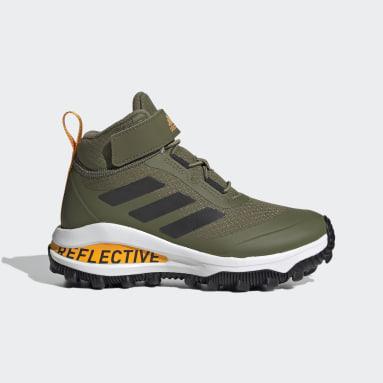 Kids Running Green FortaRun All Terrain Running Shoes