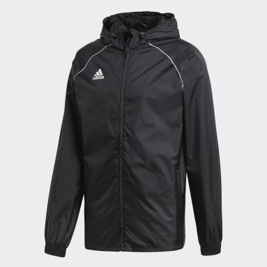Männer Fitness & Training Core 18 Regenjacke Schwarz