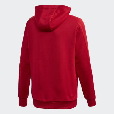 Youth 8-16 Years Football Red Condivo 20 Hooded Track Top