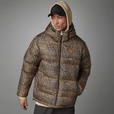 Herr Originals Multi adidas SPRT Down Animal-Print Puffer Jacket